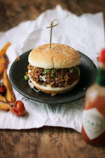 Muslim Food Recipe Kheema pao