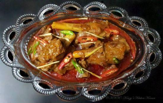 Muslim Food Recipe Nalli Nihari