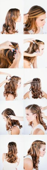 Straight prom Hairstyles1