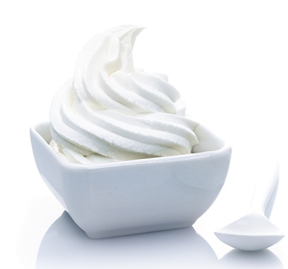 Yogurt - for dry skin