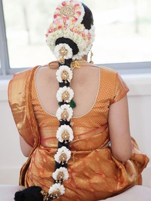 tamil bridal hairstyles
