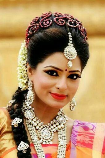 Top 9 Tamil Bridal Hairstyles | Styles At Life