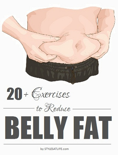 exercise to reduce belly