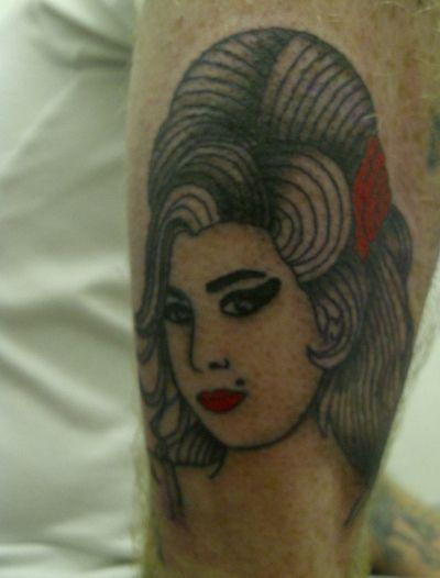 Amy Winehouse Tattoo 2
