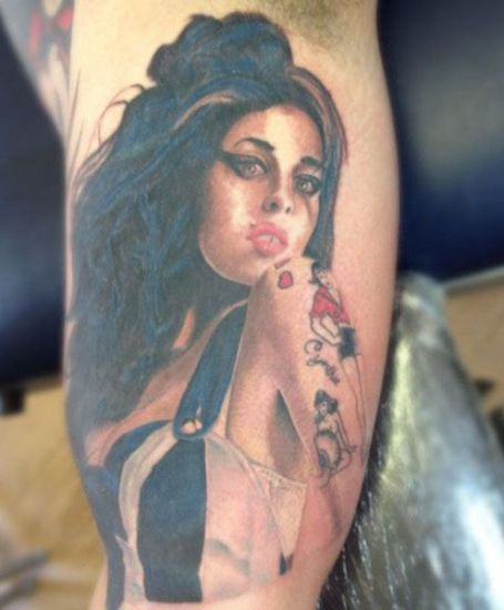 Amy Winehouse Tattoo 3