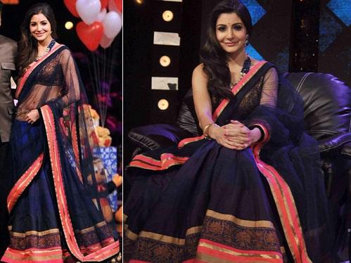 Anushka Sharma In Saree 5