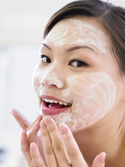 Cleanser apply