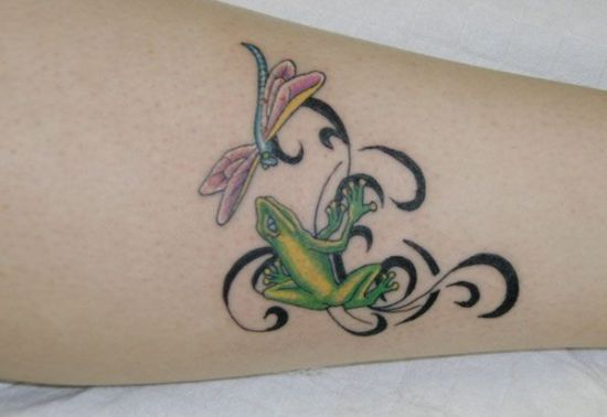 Dragonfly Tattoo 2
