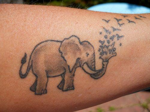 Elephant Tattoo 3