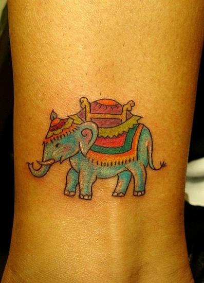 Elephant Tattoo 4