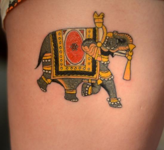 Elephant Tattoo 9