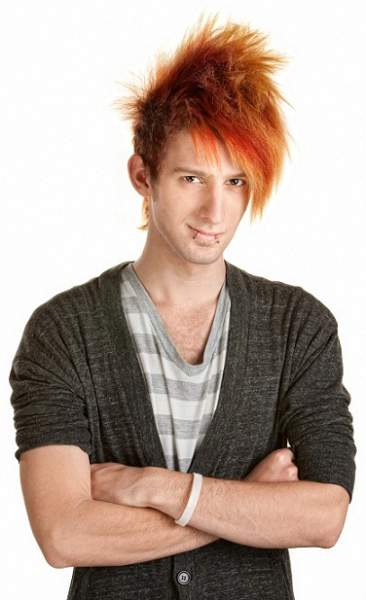 Emo hairstyles for guys - The Spiky Look