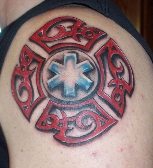 Fire Tattoo 1