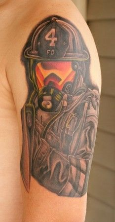 Fire Tattoo 2