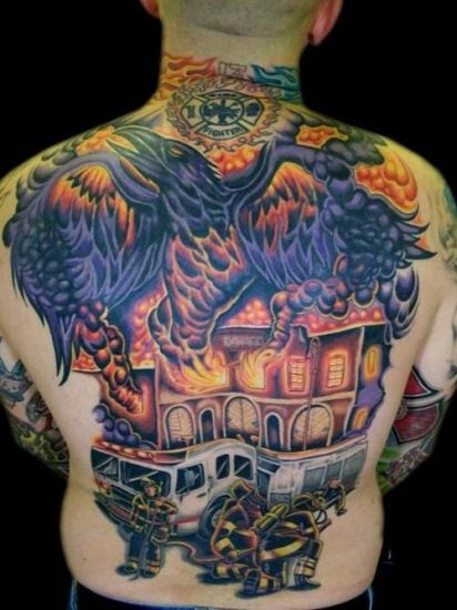 Fire Tattoo 4