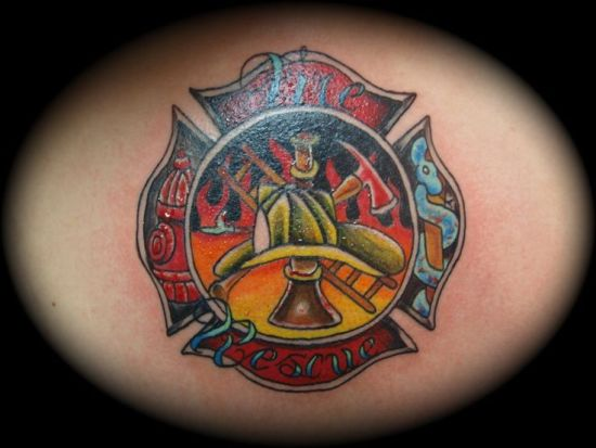 Fire Tattoo 7