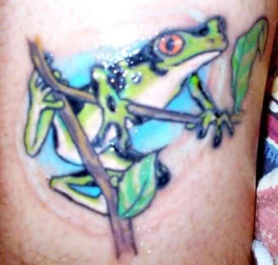 Frog Tattoo 3
