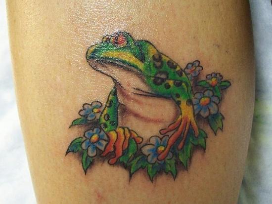 Frog Tattoo 4