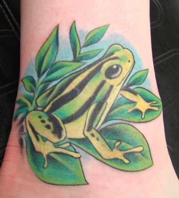 Frog Tattoo 7