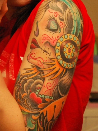 Top 9 Gypsy Tattoo Designs And Pictures | Styles At Life  Top 9 Gypsy Tat...