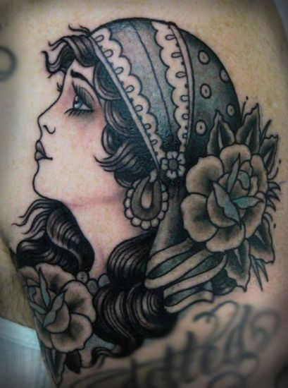 top 9 gypsy tattoo designs and pictures styles at life