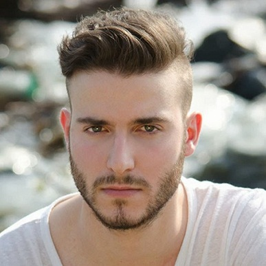 Hairstyles For Men With Round Faces17