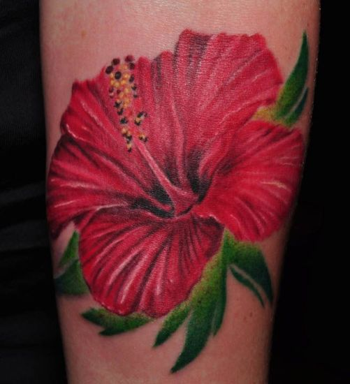 Hibiscus Tattoo 1