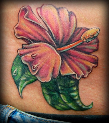 Hibiscus Tattoo 6