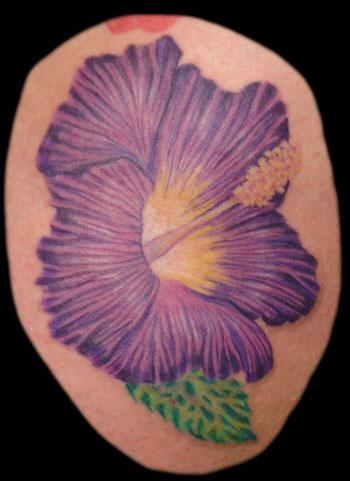 Hibiscus Tattoo 8