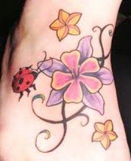 Lady Bug Tattoo Designs 5