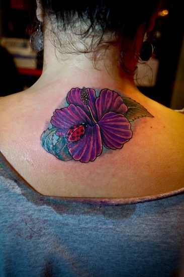 Lady Bug Tattoo Designs 6