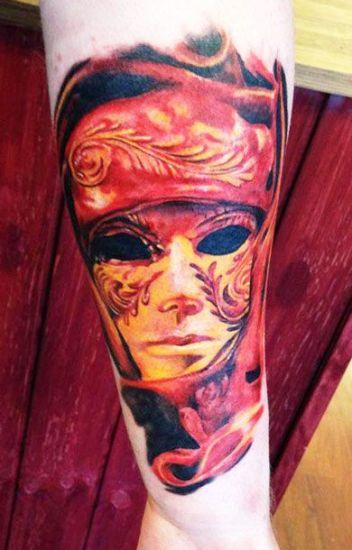 Mask Tattoo Designs 1