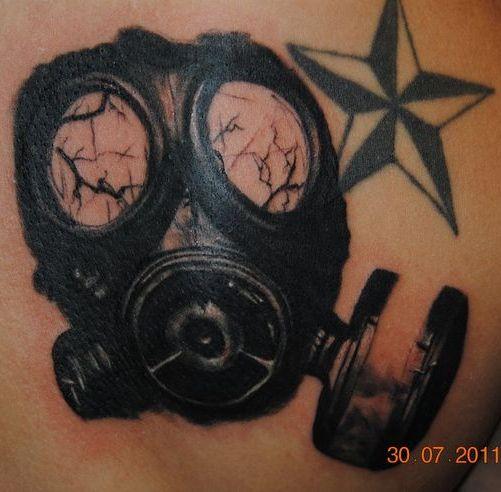 Mask Tattoo Designs 2