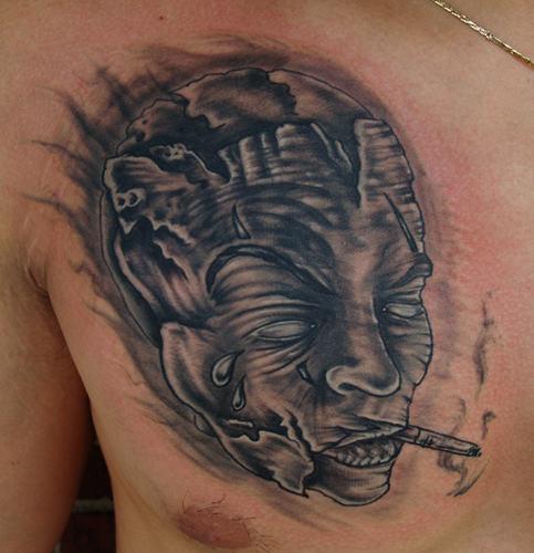 Mask Tattoo Designs 3