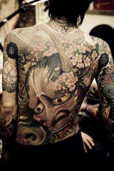 Mask Tattoo Designs 4