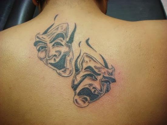 Mask Tattoo Designs 8