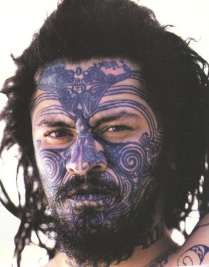 Mask Tattoo Designs 9