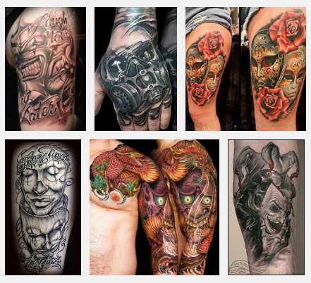 mask-tattoo-designs-and-pictures