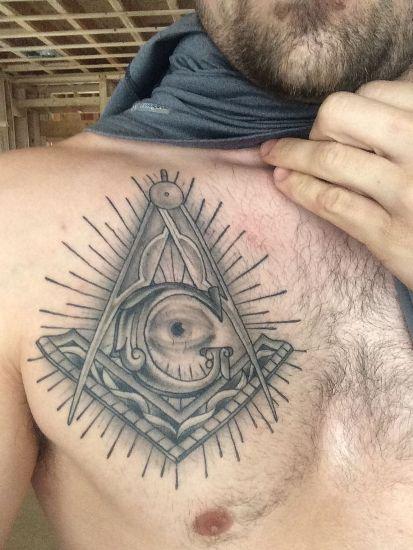Masonic Tattoo 1