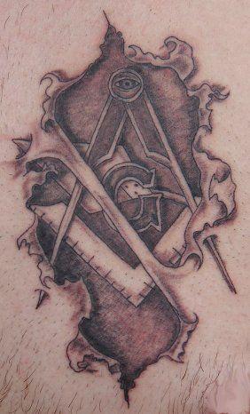 Masonic Tattoo 2