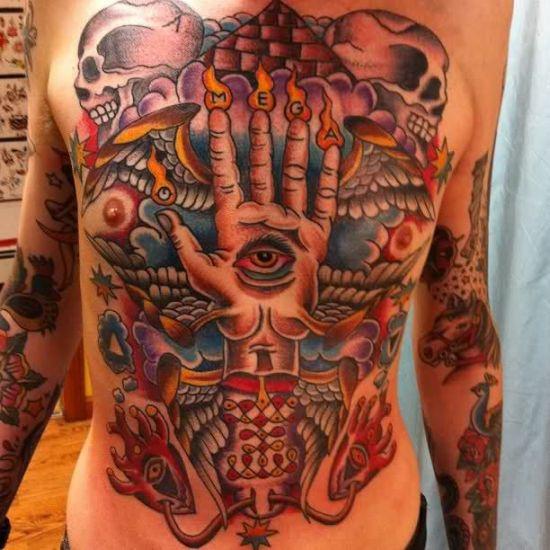 Masonic Tattoo 5