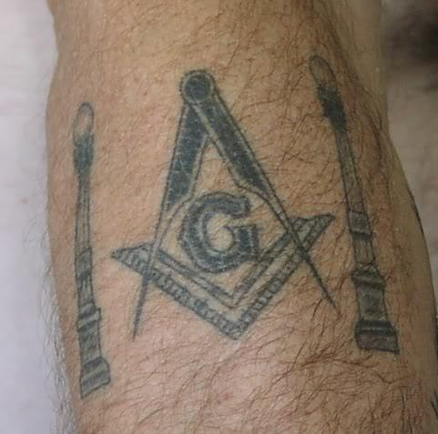 Top 9 masonic tattoo designs styles at life for Masonic symbol tattoos