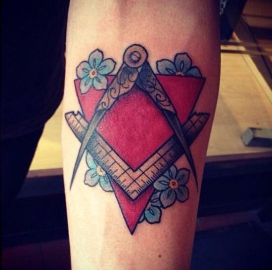 Masonic Tattoo 8