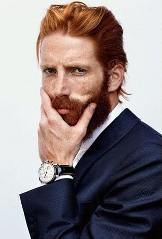 The Scottish Medium Hairstyle for Men