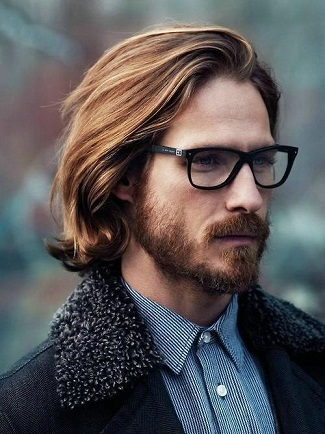 The Medium Hairstyle for Nerdy Men