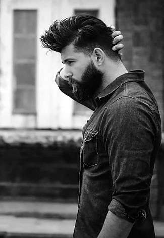 The Cool Medium Length Hairstyle for Men