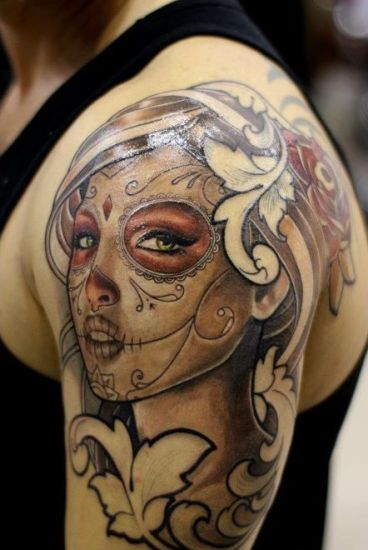 Top 9 mexican tattoo designs styles at life for Mexican style tattoos