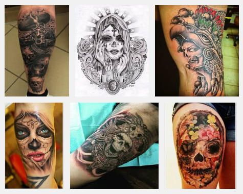 Top 9 Mexican Tattoo Designs | Styles At Life