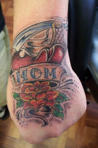 Mom and Dad Tattoo 2