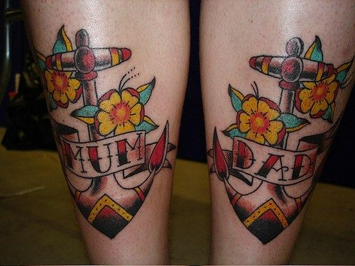 Mom and Dad Tattoo 6